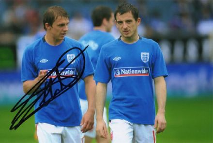 Stephen Warnock, England, signed 6x4 inch photo. (3)